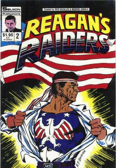 Reagan's Raiders #2 comic books - cover scans photos Reagan's Raiders #2 comic books - covers, picture gallery