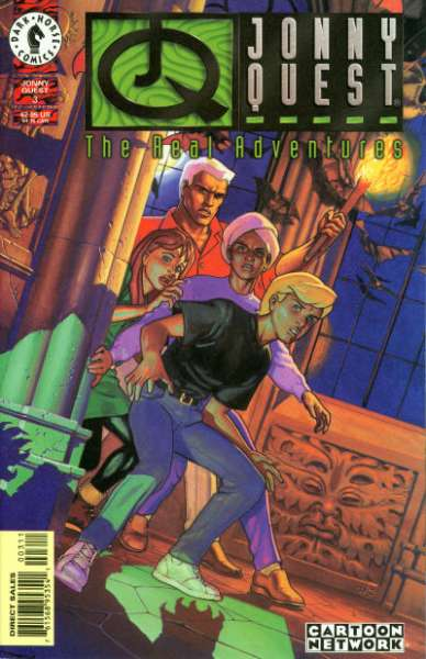 Real Adventures of Jonny Quest #3 comic books for sale