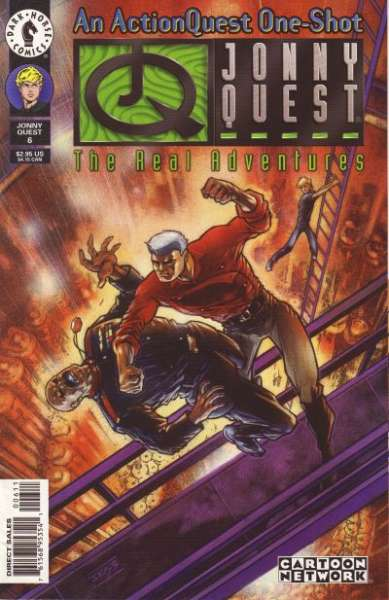 Real Adventures of Jonny Quest #6 comic books for sale