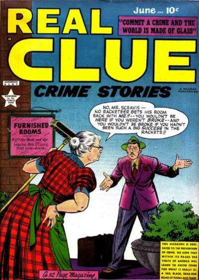 Real Clue Crime Stories: Volume 4 #4 comic books for sale