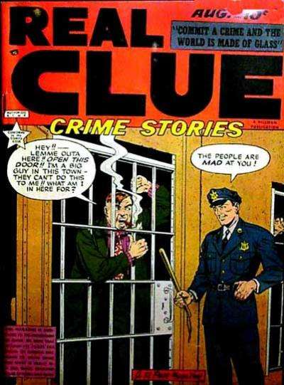 Real Clue Crime Stories: Volume 4 #6 Comic Books - Covers, Scans, Photos  in Real Clue Crime Stories: Volume 4 Comic Books - Covers, Scans, Gallery