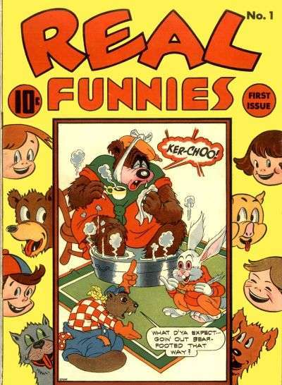 Real Funnies comic books