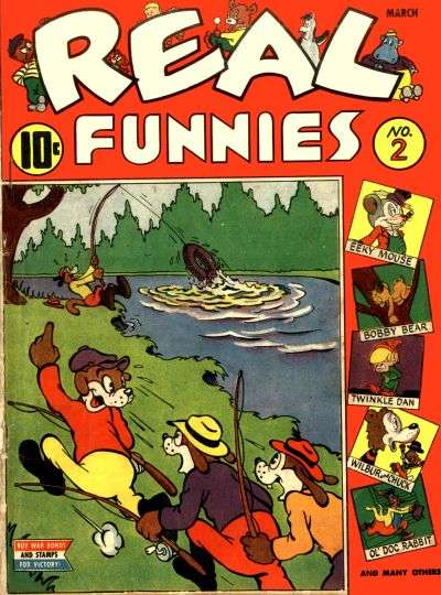 Real Funnies #2 Comic Books - Covers, Scans, Photos  in Real Funnies Comic Books - Covers, Scans, Gallery