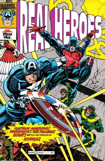 Real Heroes #3 Comic Books - Covers, Scans, Photos  in Real Heroes Comic Books - Covers, Scans, Gallery