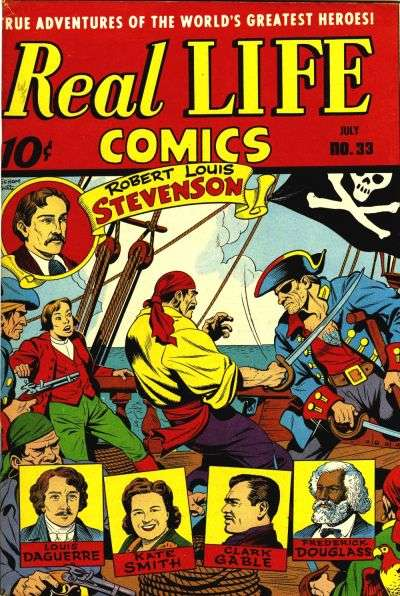 Real Life Comics #33 comic books for sale