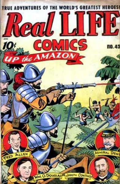 Real Life Comics #42 Comic Books - Covers, Scans, Photos  in Real Life Comics Comic Books - Covers, Scans, Gallery