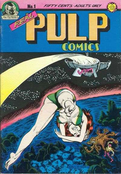 Real Pulp Comics comic books