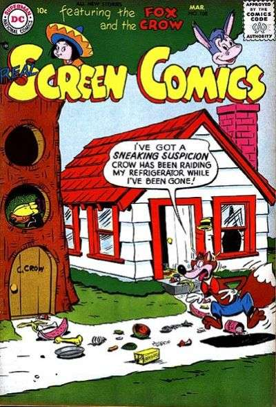 Real Screen Comics #108 comic books for sale