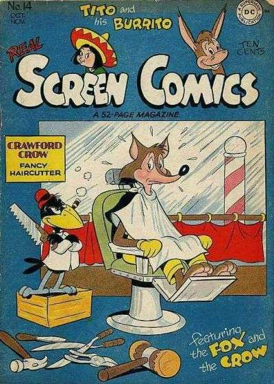 Real Screen Comics #14 Comic Books - Covers, Scans, Photos  in Real Screen Comics Comic Books - Covers, Scans, Gallery
