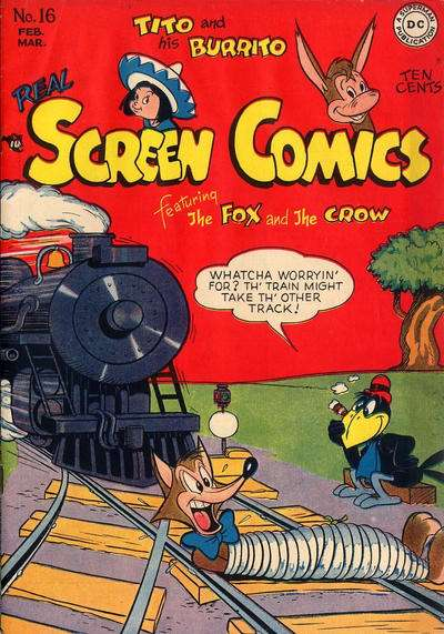 Real Screen Comics #16 Comic Books - Covers, Scans, Photos  in Real Screen Comics Comic Books - Covers, Scans, Gallery