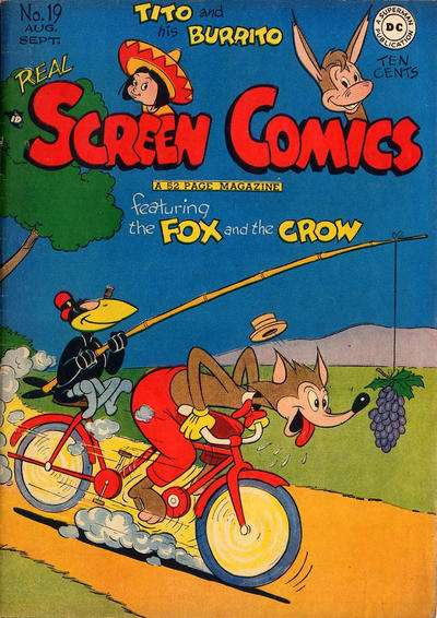 Real Screen Comics #19 comic books for sale