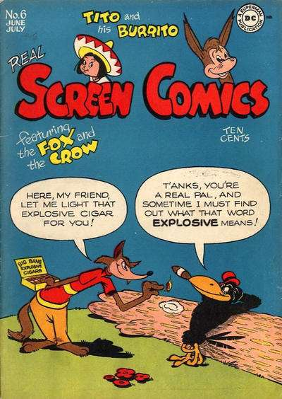 Real Screen Comics #6 Comic Books - Covers, Scans, Photos  in Real Screen Comics Comic Books - Covers, Scans, Gallery