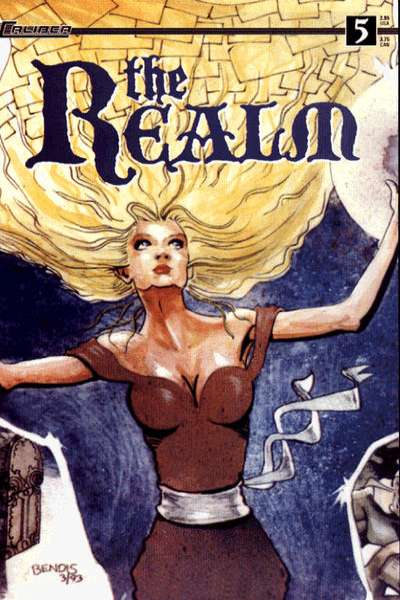 Realm #5 Comic Books - Covers, Scans, Photos  in Realm Comic Books - Covers, Scans, Gallery