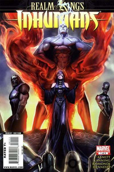 Realm of Kings: Inhumans #1 comic books - cover scans photos Realm of Kings: Inhumans #1 comic books - covers, picture gallery