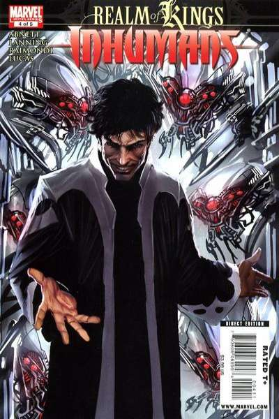 Realm of Kings: Inhumans #4 comic books for sale
