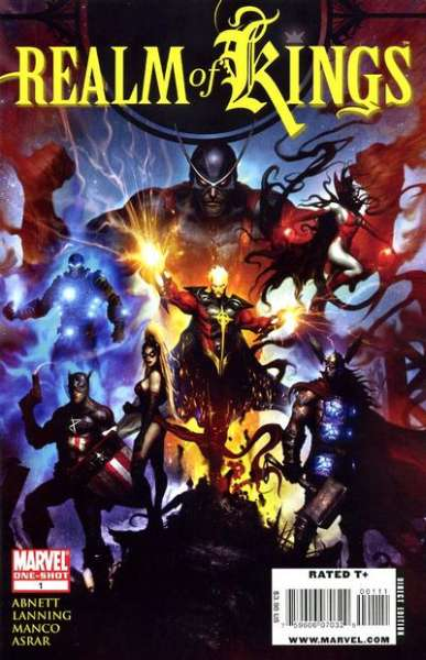 Realm of Kings #1 comic books - cover scans photos Realm of Kings #1 comic books - covers, picture gallery