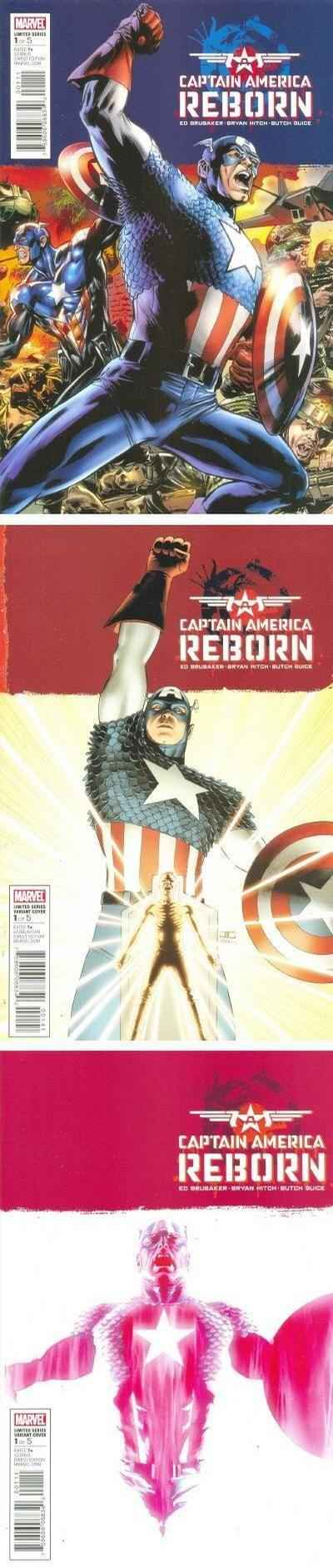 Reborn #1 comic books - cover scans photos Reborn #1 comic books - covers, picture gallery