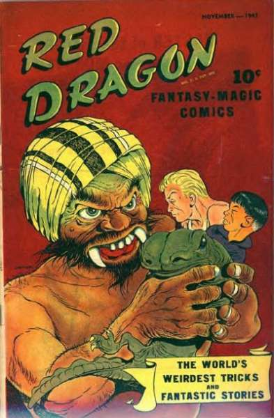 Red Dragon Comics #1 Comic Books - Covers, Scans, Photos  in Red Dragon Comics Comic Books - Covers, Scans, Gallery