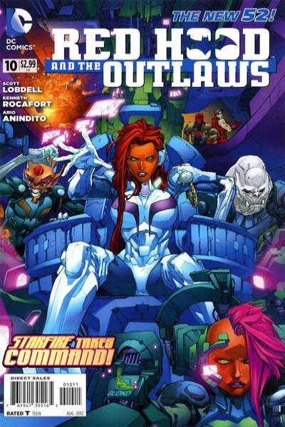 Red Hood and the Outlaws #10 Comic Books - Covers, Scans, Photos  in Red Hood and the Outlaws Comic Books - Covers, Scans, Gallery