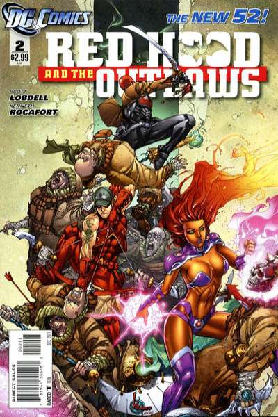 Red Hood and the Outlaws #2 Comic Books - Covers, Scans, Photos  in Red Hood and the Outlaws Comic Books - Covers, Scans, Gallery