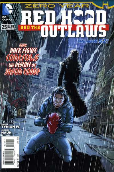 Red Hood and the Outlaws #25 Comic Books - Covers, Scans, Photos  in Red Hood and the Outlaws Comic Books - Covers, Scans, Gallery