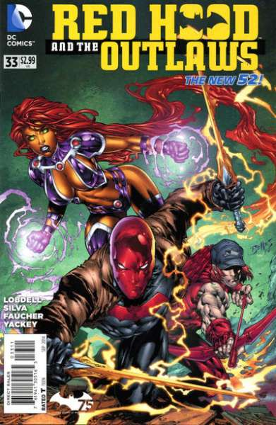 Red Hood and the Outlaws #33 comic books for sale