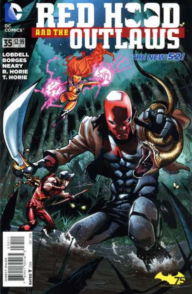 Red Hood and the Outlaws #35 comic books for sale