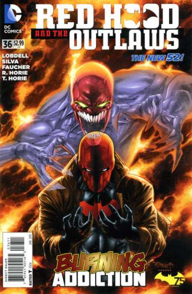 Red Hood and the Outlaws #36 comic books for sale