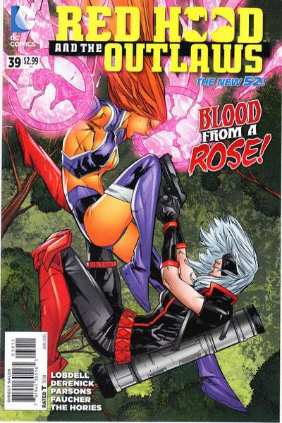 Red Hood and the Outlaws #39 comic books for sale