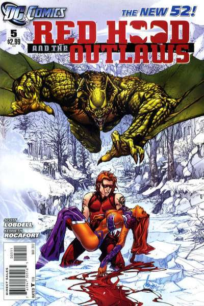 Red Hood and the Outlaws #5 Comic Books - Covers, Scans, Photos  in Red Hood and the Outlaws Comic Books - Covers, Scans, Gallery