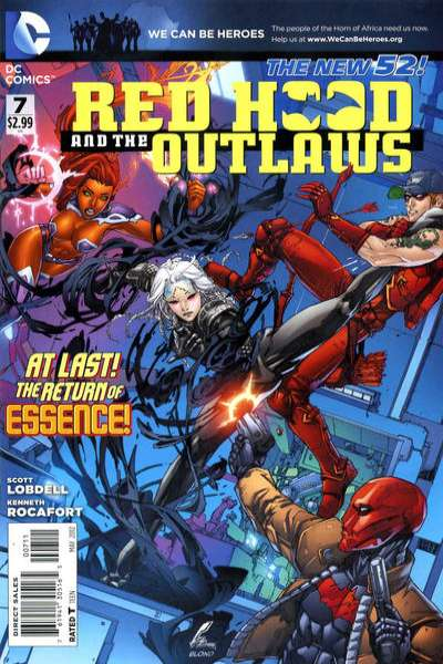 Red Hood and the Outlaws #7 Comic Books - Covers, Scans, Photos  in Red Hood and the Outlaws Comic Books - Covers, Scans, Gallery