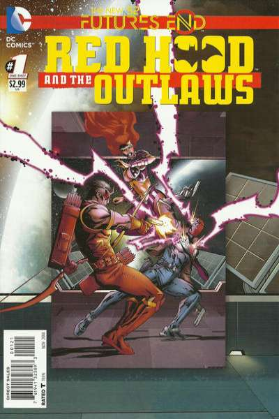 Red Hood and the Outlaws: Futures End #1 Comic Books - Covers, Scans, Photos  in Red Hood and the Outlaws: Futures End Comic Books - Covers, Scans, Gallery