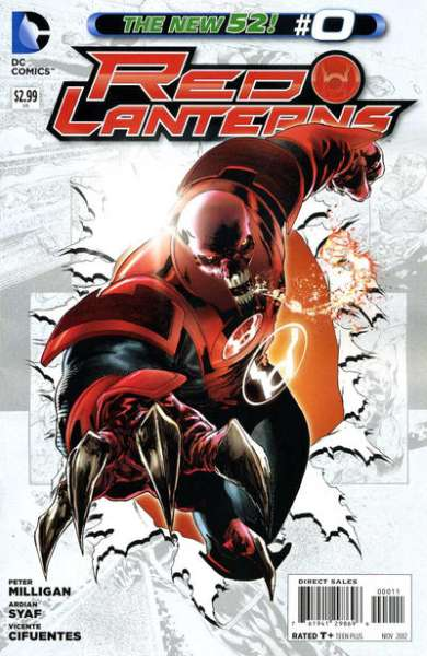 Red Lanterns #0 comic books - cover scans photos Red Lanterns #0 comic books - covers, picture gallery