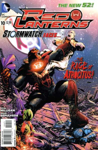 Red Lanterns #10 comic books - cover scans photos Red Lanterns #10 comic books - covers, picture gallery