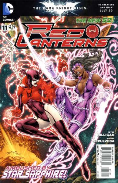 Red Lanterns #11 comic books - cover scans photos Red Lanterns #11 comic books - covers, picture gallery