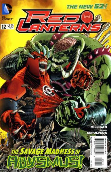 Red Lanterns #12 comic books - cover scans photos Red Lanterns #12 comic books - covers, picture gallery