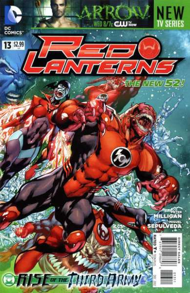 Red Lanterns #13 Comic Books - Covers, Scans, Photos  in Red Lanterns Comic Books - Covers, Scans, Gallery