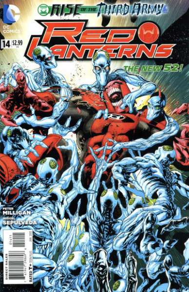 Red Lanterns #14 comic books - cover scans photos Red Lanterns #14 comic books - covers, picture gallery