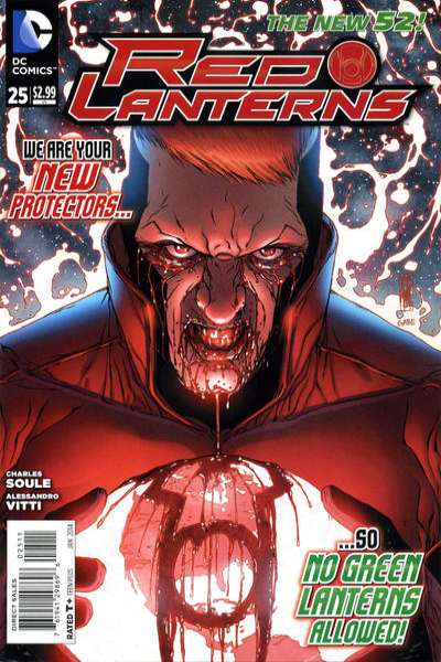 Red Lanterns #25 comic books for sale