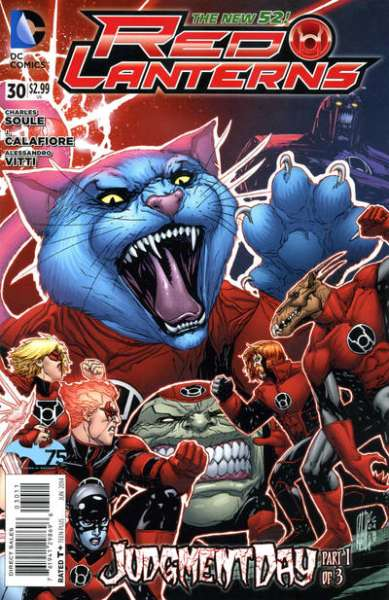 Red Lanterns #30 comic books for sale