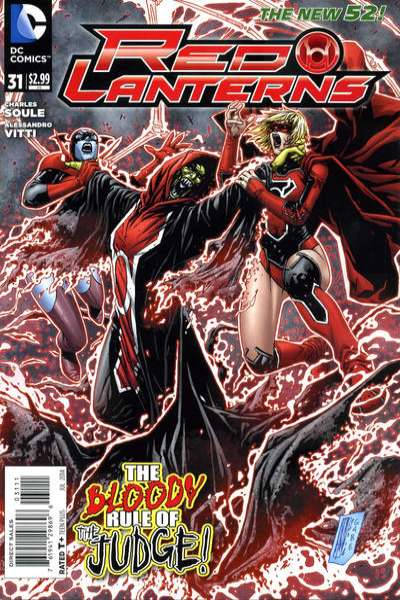 Red Lanterns #31 comic books for sale