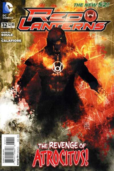Red Lanterns #32 comic books for sale