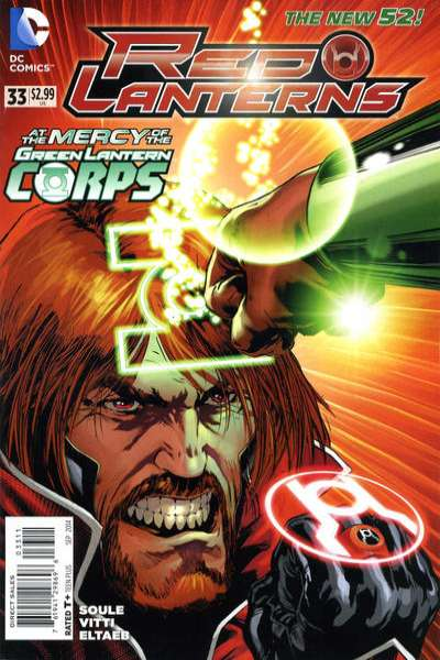 Red Lanterns #33 comic books for sale