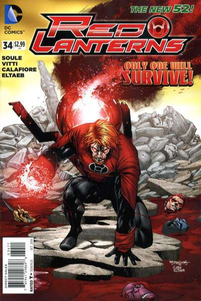 Red Lanterns #34 comic books for sale