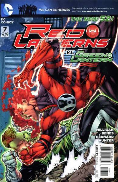 Red Lanterns #7 Comic Books - Covers, Scans, Photos  in Red Lanterns Comic Books - Covers, Scans, Gallery
