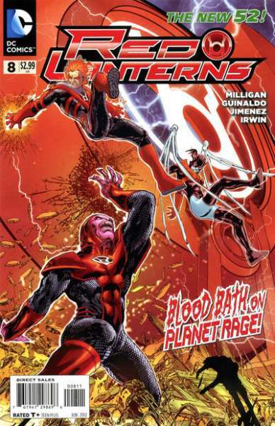 Red Lanterns #8 comic books for sale