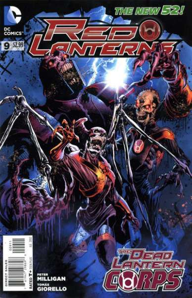 Red Lanterns #9 comic books - cover scans photos Red Lanterns #9 comic books - covers, picture gallery
