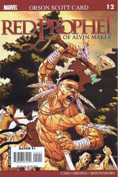 Red Prophet: The Tales of Alvin Maker #12 Comic Books - Covers, Scans, Photos  in Red Prophet: The Tales of Alvin Maker Comic Books - Covers, Scans, Gallery