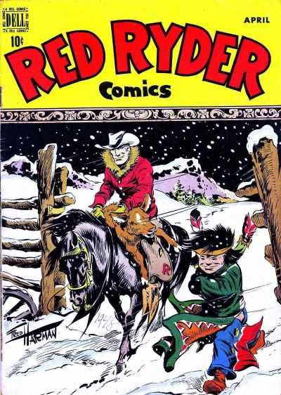 Red Ryder Comics #57 Comic Books - Covers, Scans, Photos  in Red Ryder Comics Comic Books - Covers, Scans, Gallery