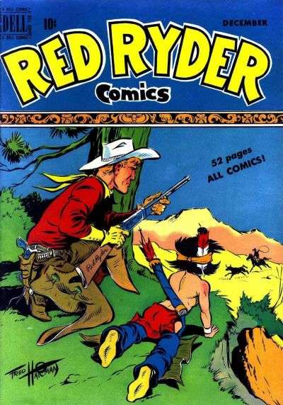 Red Ryder Comics #77 Comic Books - Covers, Scans, Photos  in Red Ryder Comics Comic Books - Covers, Scans, Gallery